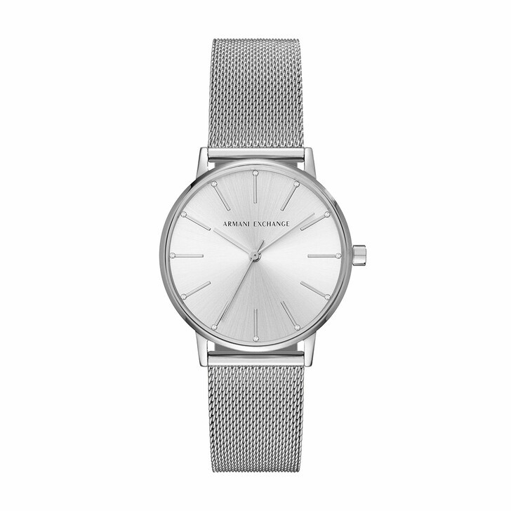 Uhr, Armani Exchange, AX5535 Ladies Watch Silver