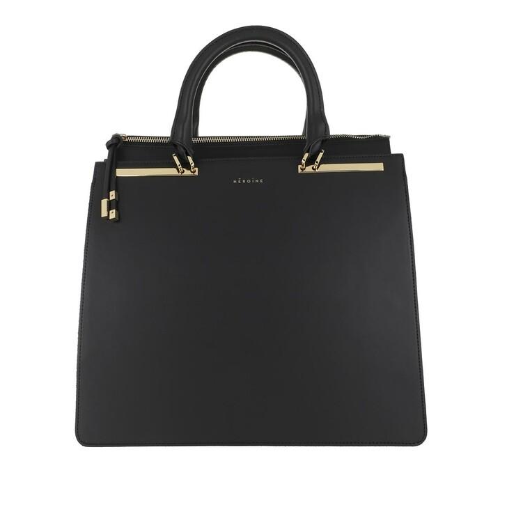 Handtasche, Maison Hēroïne, Sophie Handle Bag Black