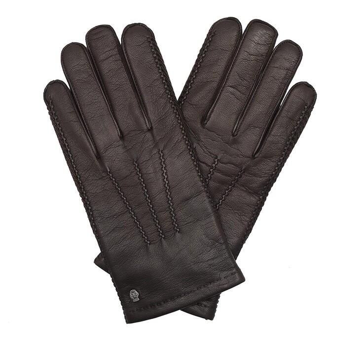 Handschuh, Roeckl, Men Leipzig Gloves Coffee