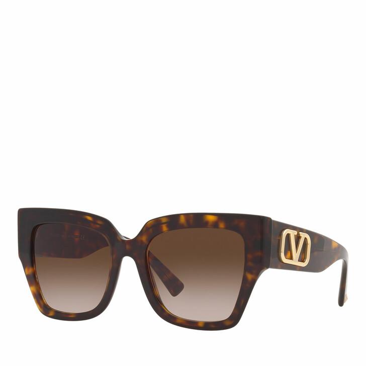 sunglasses, Valentino Garavani, Woman Sunglasses 0VA4082 Havana