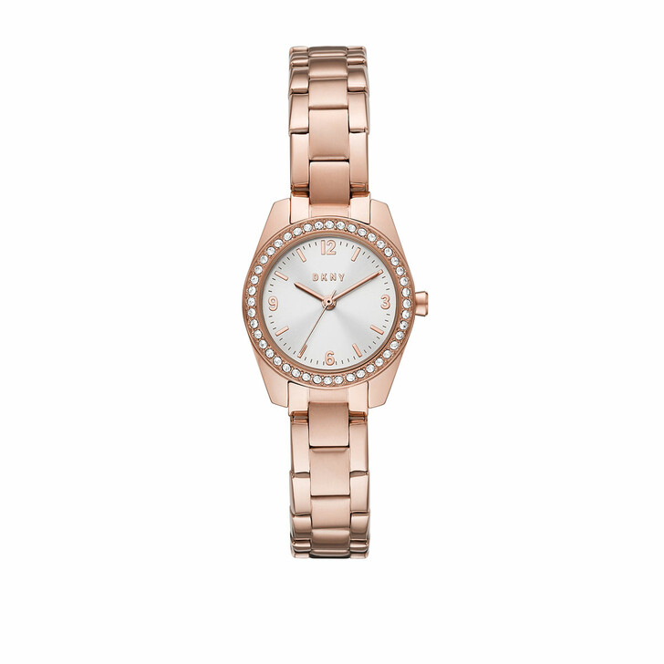 Uhr, DKNY, Nolita Three-Hand Stainless Steel Watch Rose Gold-Tone