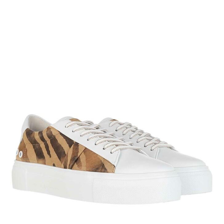 Schuh, Kennel & Schmenger, Big Sneakers Zebrato cuoio/bianco Sw