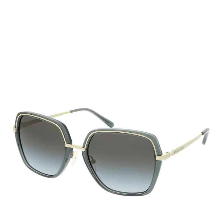 Sonnenbrille, Michael Kors, 0MK1075 10148G Woman Sunglasses Modern Glamour Light Gold/Black Transparent