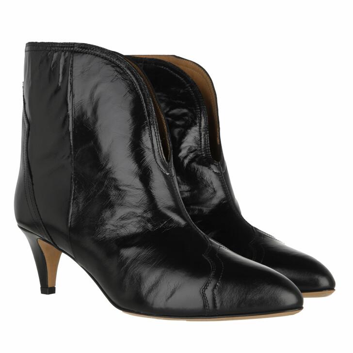 shoes, Isabel Marant, Derka Ankle Boots Black