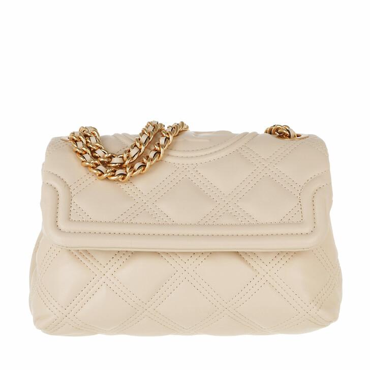 Handtasche, Tory Burch, Fleming Soft Small Convertible Shoulder Bag New Cream