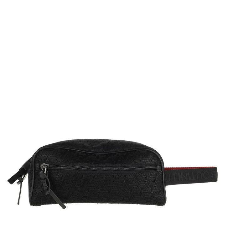 Necessaire, Christian Louboutin, Blaster Techno Wash Bag Black