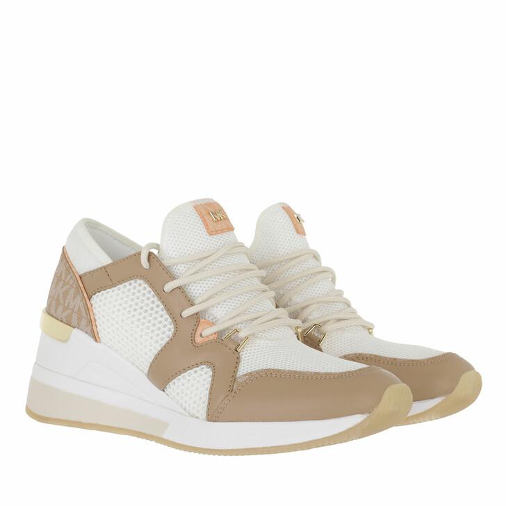 shoes, MICHAEL Michael Kors, Liv Trainer Camel Multi