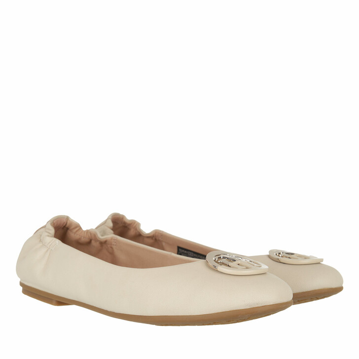 Schuh, Tommy Hilfiger, TH Basic Ballerinas Leather Classic Beige