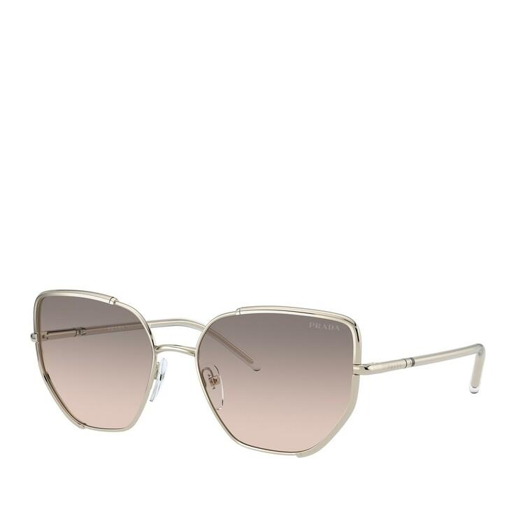 Sonnenbrille, Prada, METALL WOMEN SONNE PALE GOLD