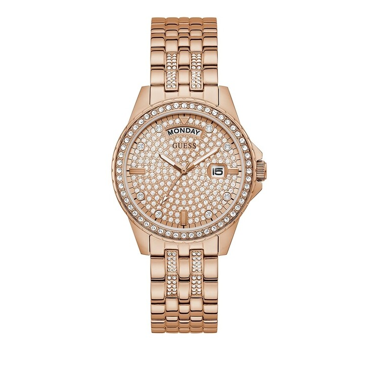 Uhr, Guess, LADIES DRESS WATCH Rose Gold Tone