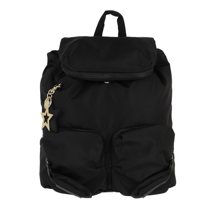 bags, See By Chloé, Medium Joy Rider Backpack Black