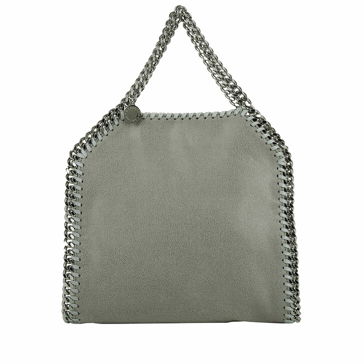 Handtasche, Stella McCartney, Mini Falabella 3Chains Light Grey