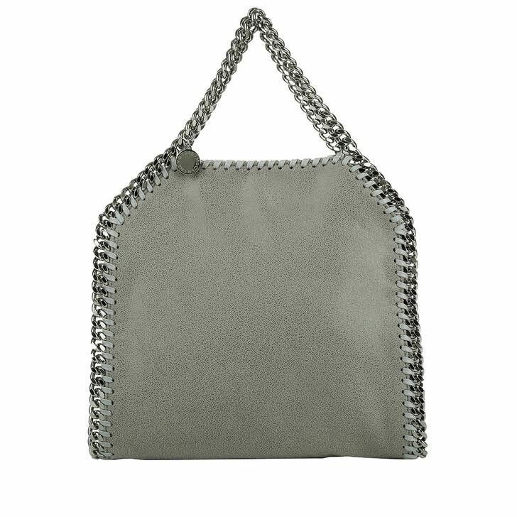 bags, Stella McCartney, Mini Falabella 3Chains Light Grey