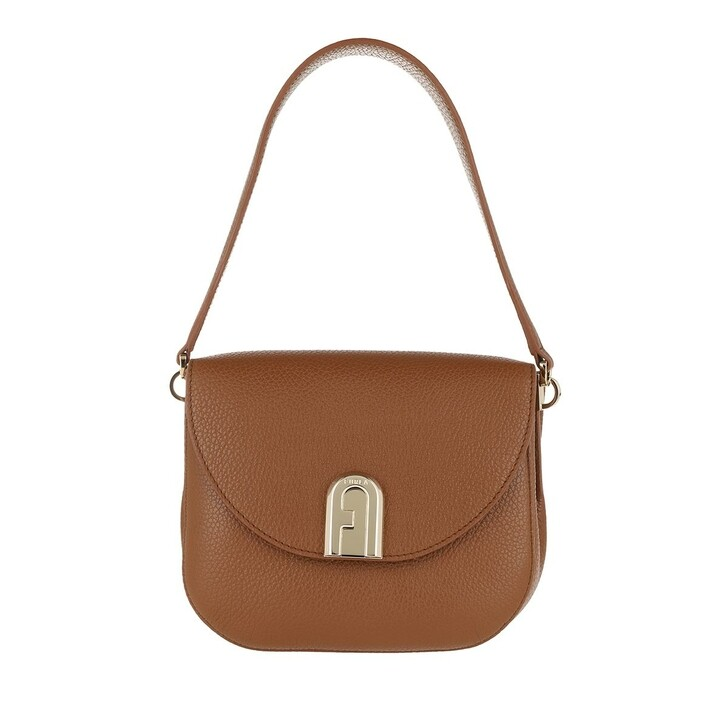 Handtasche, Furla, Sleek Mini Crossbody Cognac