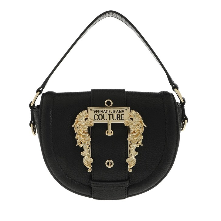 Handtasche, Versace Jeans Couture, Satchel Bag Leather Black