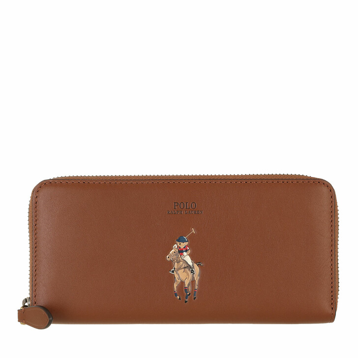 wallets, Polo Ralph Lauren, Slim Zip Wallet Small