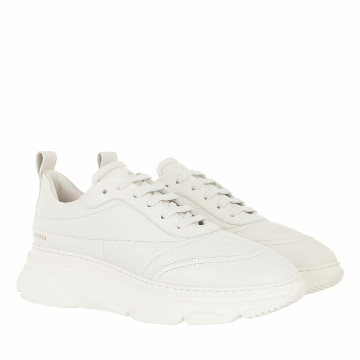 shoes, Copenhagen, Sneaker Leather cream white