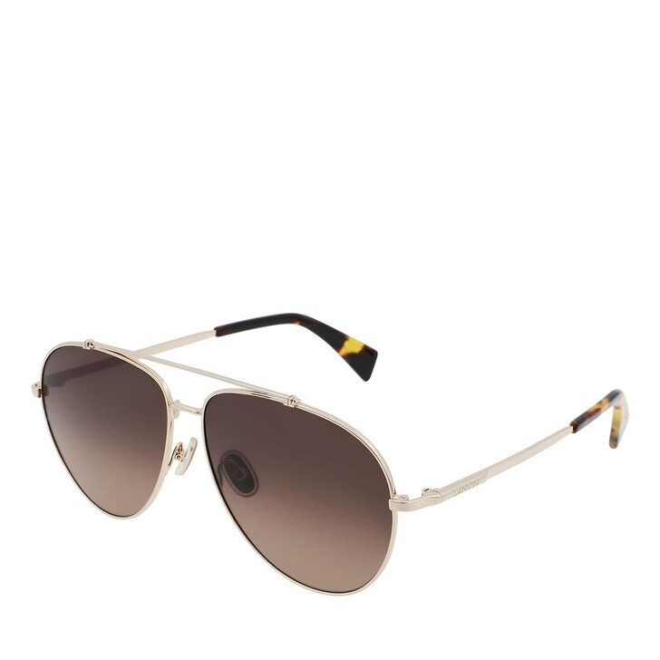 Sonnenbrille, Lanvin, LNV113S GOLD/GRADIENT BROWN