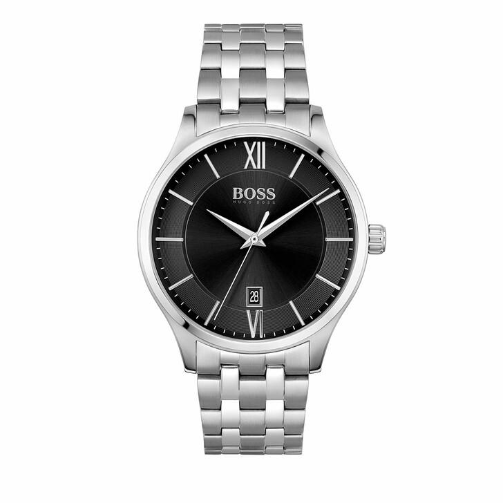 watches, Boss, Watch Elite Silver