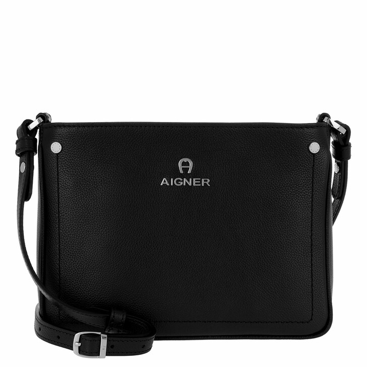 Handtasche, AIGNER, Ava Handle Bag Black