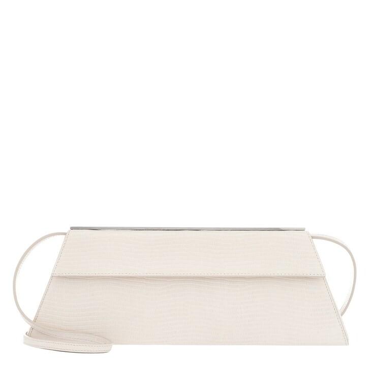 Handtasche, Giuseppe Zanotti, Tetra Clutch White