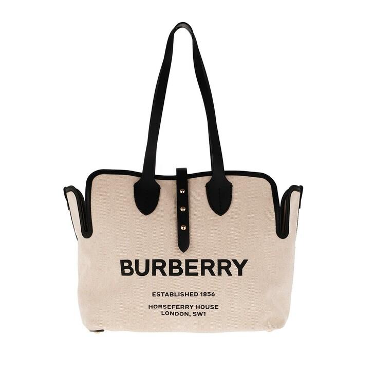 Handtasche, Burberry, Soft Belt Tote Bag Black