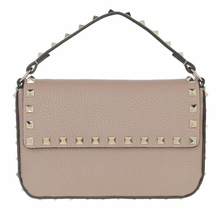 bags, Valentino Garavani, Mini Rockstud Crossbody Bag Powder