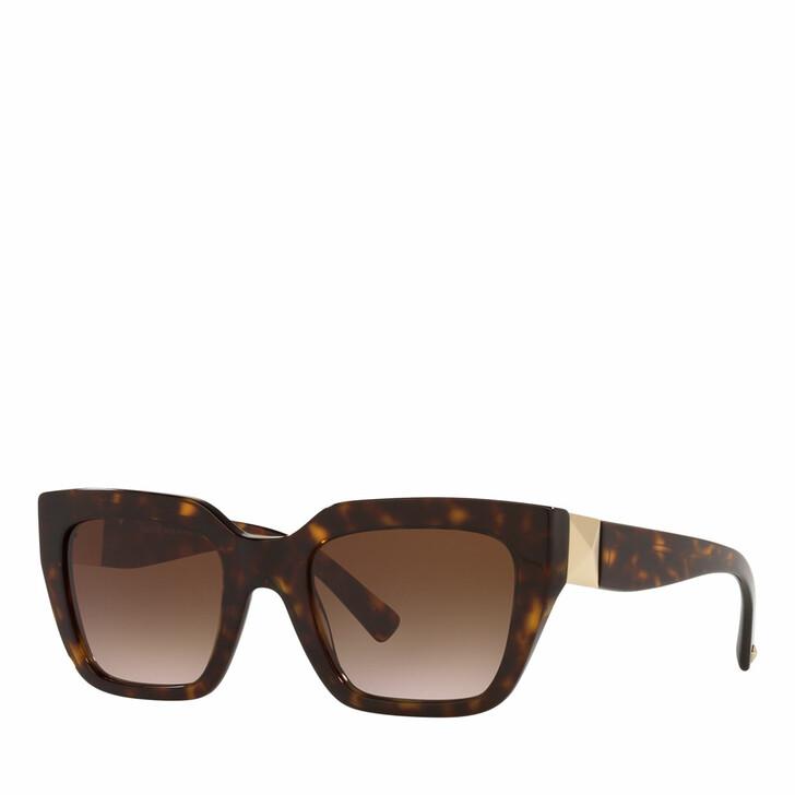 sunglasses, Valentino Garavani, Woman Sunglasses 0VA4097 Havana