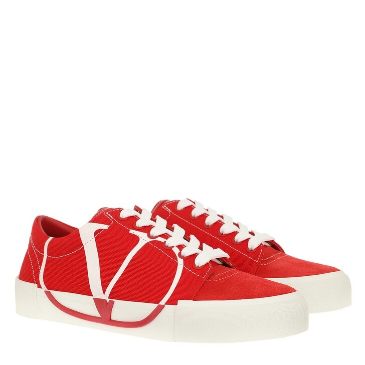 Schuh, Valentino Garavani, Canvas Sneakers Red