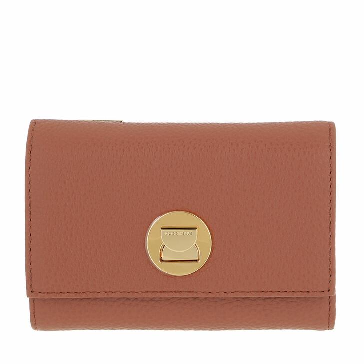 wallets, Coccinelle, Liya Wallet Grainy Leather Cinnamon