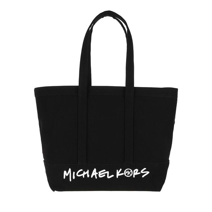 bags, MICHAEL Michael Kors, The Michael Bag Large Ew Tote Black