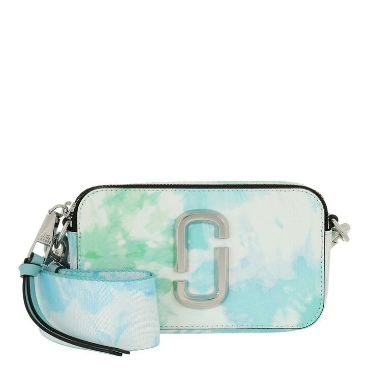 bags, Marc Jacobs, The Snapshot Crossbody Bag Tie Dye Blue Multi