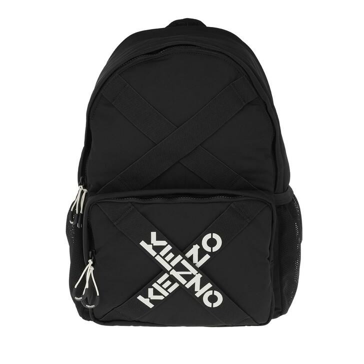 Reisetasche, Kenzo, Backpack Black