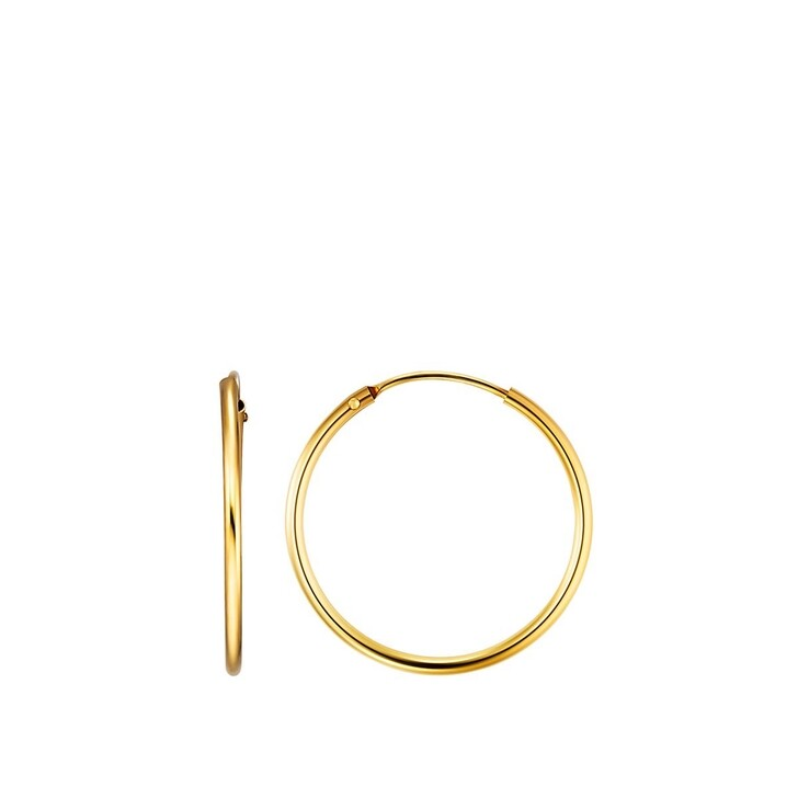 Ohrring, BELORO, Creole Earring 8k S Gold
