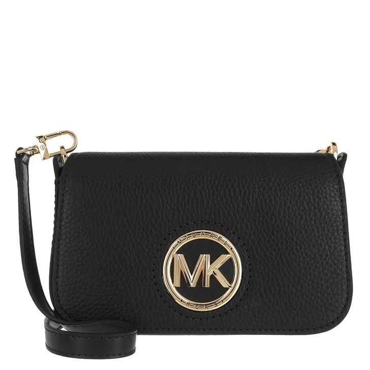 Handtasche, MICHAEL Michael Kors, Samira Small Convertible Crossbody Bag Black