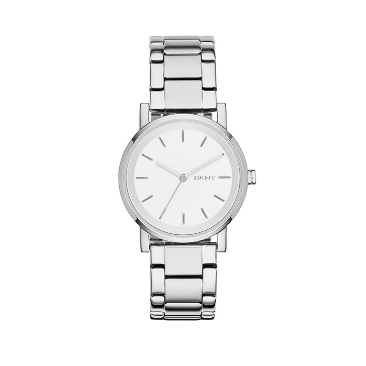 Uhr, DKNY, Soho Bracelet Watch Silver