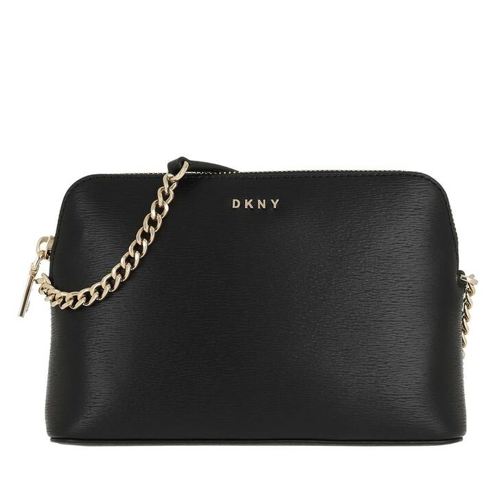 bags, DKNY, Bryant Dome Crossbody Su Blk/Gold