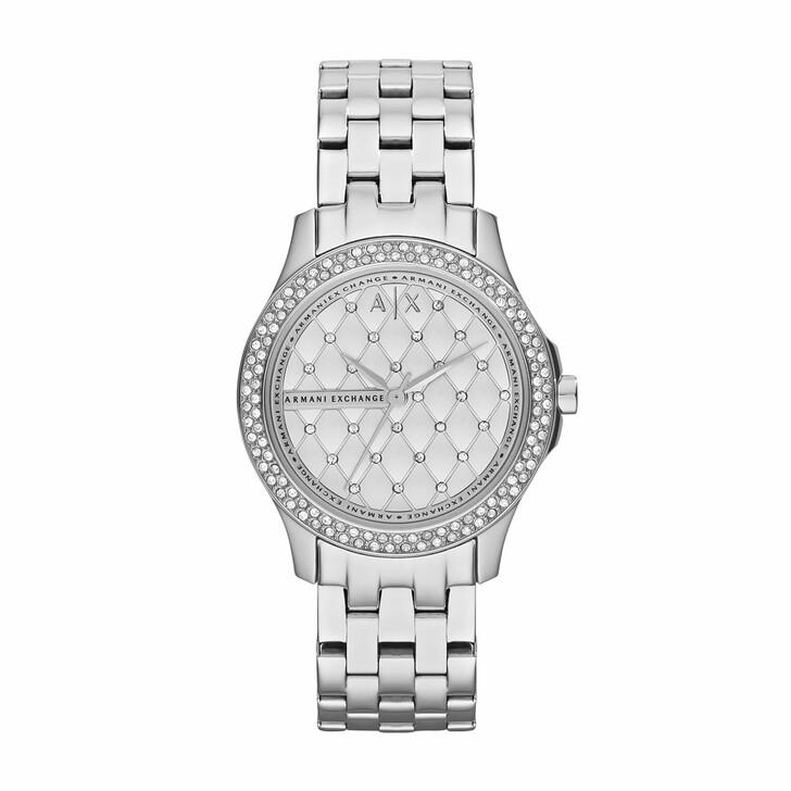 Uhr, Armani Exchange, AX5215 Ladies Lady Hampton Watch Silver