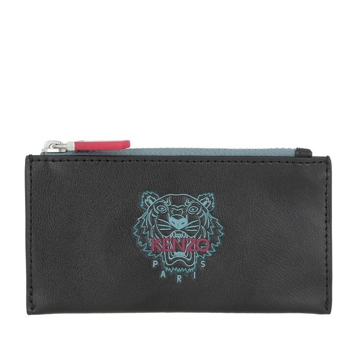 Geldbörse, Kenzo, Card case Black