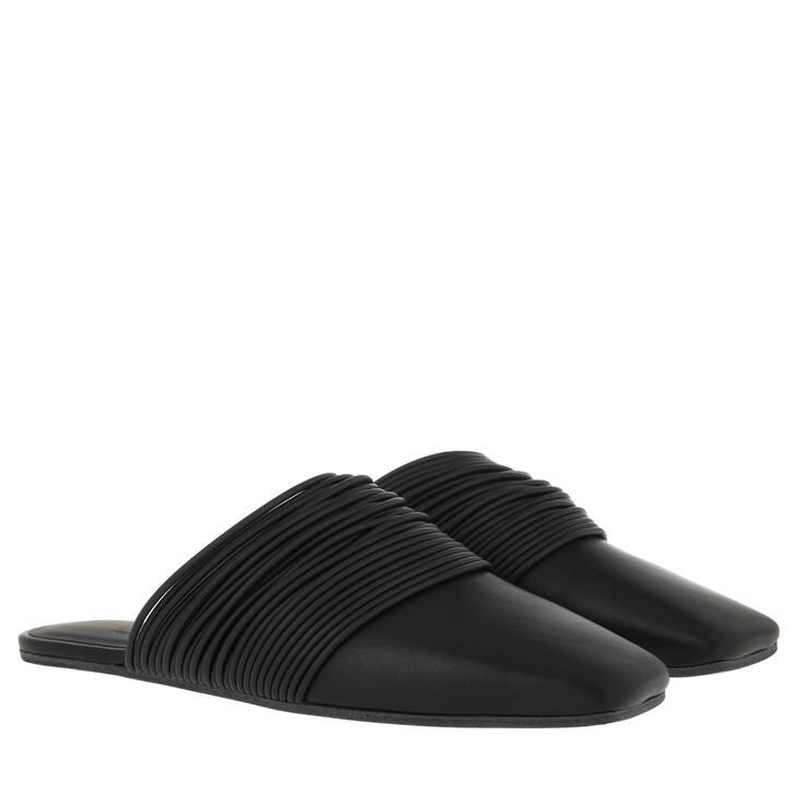 Schuh, MM6 Maison Margiela, Ciabatta Slippers Black