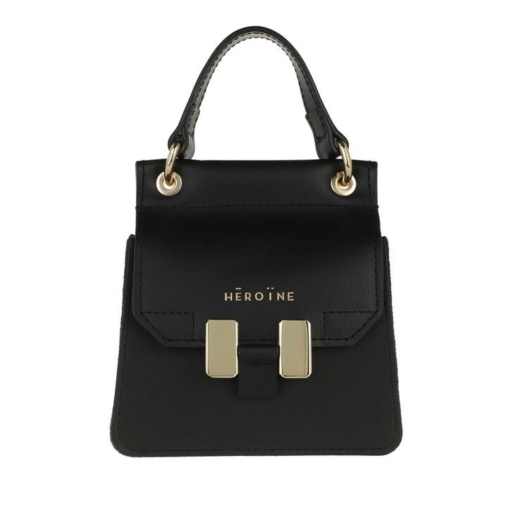 bags, Maison Hēroïne, Marlene Handle Bag Nano Black