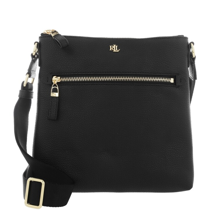 Handtasche, Lauren Ralph Lauren, Jetty Crossbody Bag Medium Black