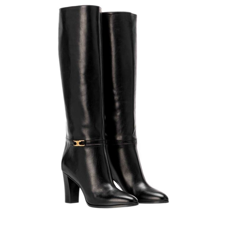 Schuh, Celine, Claude High Boots Leather Black