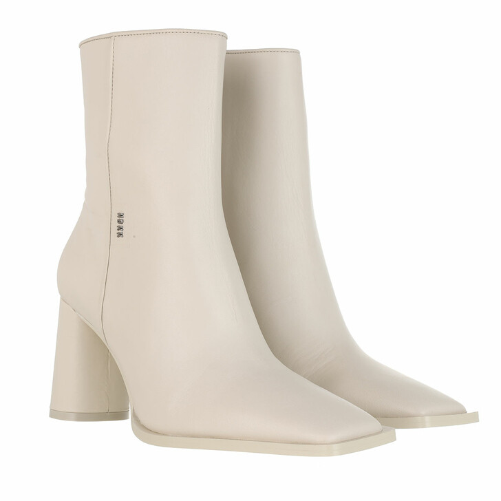 Schuh, Nubikk, Norah Jazz Boots Leather Off White