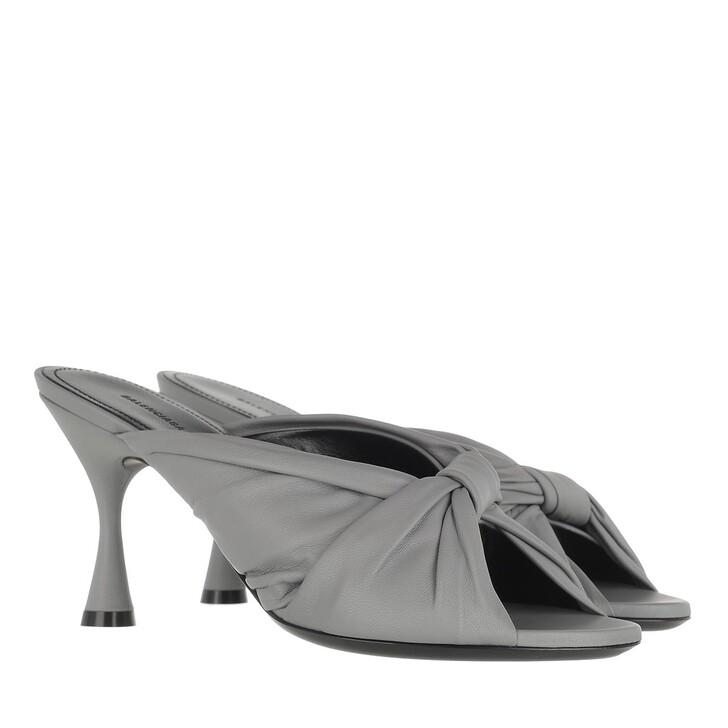 Schuh, Balenciaga, Drapy Sandal Leather Black