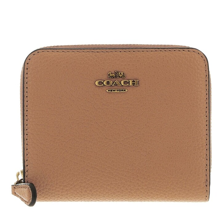 wallets, Coach, Colorblock Leather Billfold Wallet B4/Natural Multi