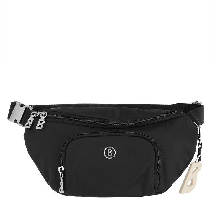 Handtasche, Bogner, Verbier Janica Hipbag Shz 1 black