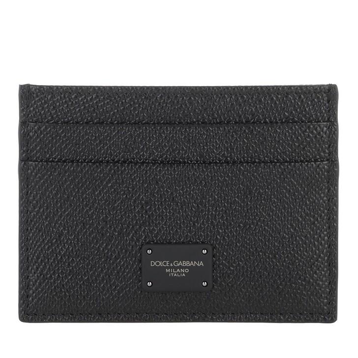 Geldbörse, Dolce&Gabbana, Card Case Black