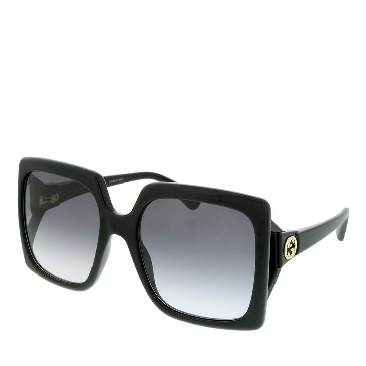 sunglasses, Gucci, GG0876S-001 60 Sunglass WOMAN INJECTION BLACK