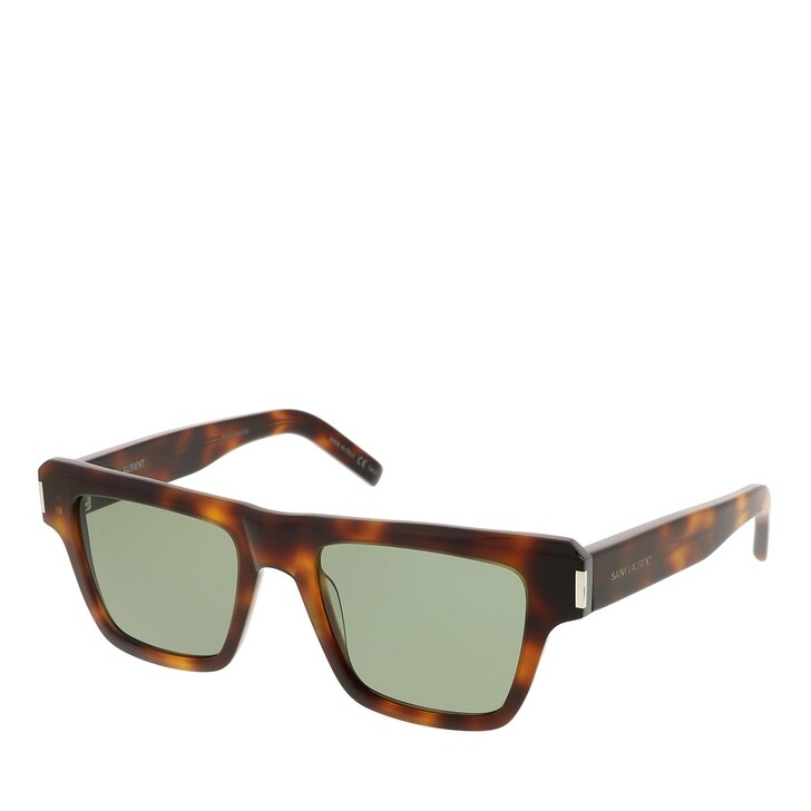 sunglasses, Saint Laurent, SL 469-002 51 Sunglass Man Acetate Havana-Havana-Green